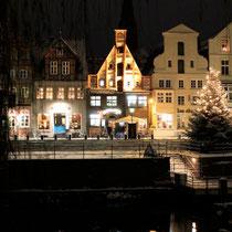 Lüneburg bei Nacht