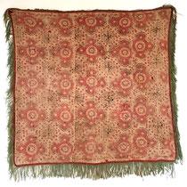 ウズベキスタン ラカイ族 壁掛刺繍布 裏面