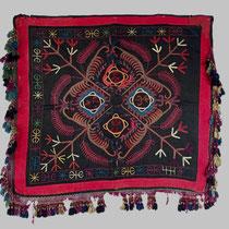 タジキスタン刺繍布 ミラーカヴァー