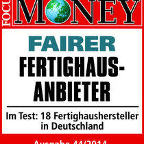 Focus Money Bien Zenker fairster Fertighaus Anbieter