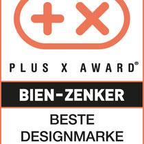 Plus X Award Bien Zenker - beste Design Marke