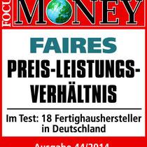 Focus Money Bien Zenker fairstes Preis- Leistungs-Verhältnis
