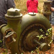 La turbine était assez imposante