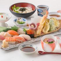 上寿司天ぷら御膳 2000円(+税)
