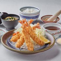 エビフライ定食 1300円(+税)
