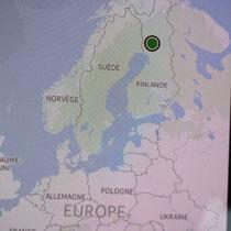 Rovaniémi = point vert