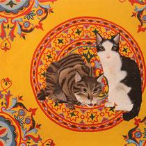 Her kim ömründe bir kedi öldürmüş ise, o kişi bir cami yaptırmalı ki Allah katında affedilsin : Hagia Sofia/Sokak