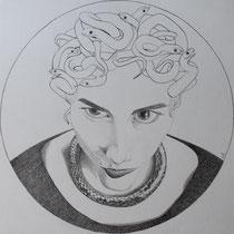 Self-portrait as Medusa