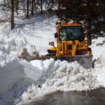 道路除雪作業