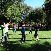 Chi Kung - receber a energia do sol