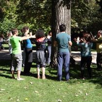 Chi Kung - sentir a energia da árvore