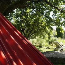 Entspannen im Kleingarten ...