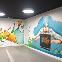 """Hall du """"Cloud"""" Cdiscount. Bordeaux. 2015"""
