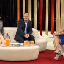 Guten Morgen Deutschland - das Frühstücksfernsehen bei RTL seit 2012 mit neuer Sitzgruppe