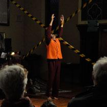 Code Maroon - Northcote Uniting Church, Melbourne, 2013: performance- Frank van de Ven / harmonium & voice - Kavisha Mazzella
