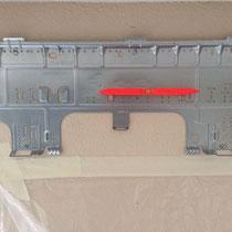 Pose de la plaque de fixation horizontale