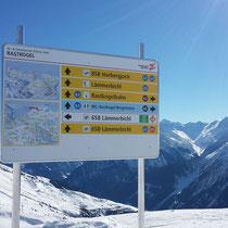 Big Project 2014: Einheitliches Pisten- und Skigebietsleitsystem von Hippach bis Hintertux