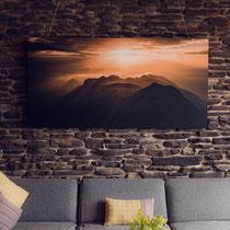 Bergfoto Tirol Wandbild