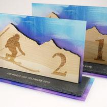 Pokale FIS Telemark Weltcup am Hintertuxer Gletscher