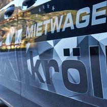 """Taxibeschriftung """"Taxi Kröll"""", Mayrhofen"""