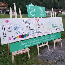 """Projekt """"Kunst ist Frei"""" für unseren Kunden Brindlinger Versicherungsmakler"""