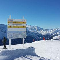 Skigebiets-Leitsystem / Pisten Schilder für die Ski- & Gletschwelt Zillertal3000