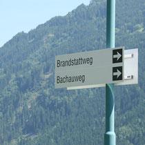 Ortsbeschilderung und Leitsystem in Ried im Zillertal