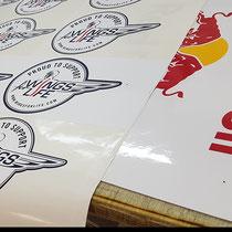"Sticker ""We support WingsforLife"""