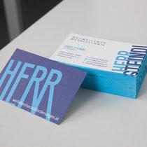 Drucksorten mit Farbschnitt für den HERRN