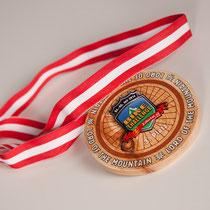 Einzigartige Medaillen für die Zillertal Bike-Challenge