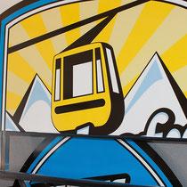 Bergbahn-Beschriftung Mayrhofen/Penken