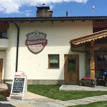 Beschilderung neu für´s Almstüberl  - Jausenstation und Skihütte am Penken, Finkenberg