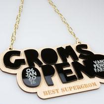 """Medaillen für Gewinner """"Groms Open"""" - Vans Penken Park"""
