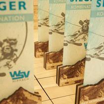 Individuelle Pokale - exklusiv entworfen für den Sportclub WSV Hippach im Zillertal