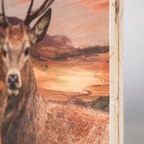 Art Drucke - Direkt Plattendruck auf Holz