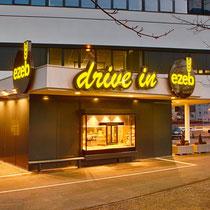Leuchtschilder und Schriften EZEB Drive-In Schwaz