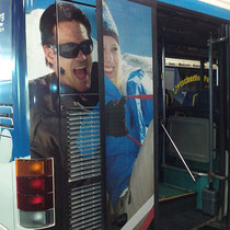 Busbeklebung Tuxer Sportbus