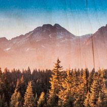 Dein Druck auf Holz - made in Tirol