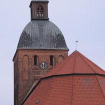 Start auf dem Marktplatz in Ribnitz