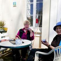 Einladung zum Tee durch Frau Mitsuko Radeloff