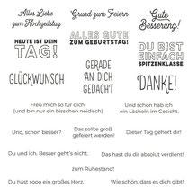 "Stempelset Ablösbar "" Prima Pärchen"" - 23,20 €"