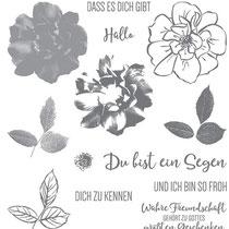 """Stempelset Klarsicht """"Wilde Rose"""" - 25,69 €"""