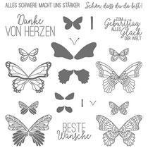 "Stempelset Klarsicht ""Schmetterlingsglück"" - 20,71 €"