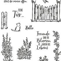 "Stempelset Klarsicht ""Geheimnisvoller Garten"" - 18,23 €"
