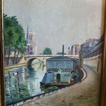 """""""la Seine et Notre-Dame"""" Leroy"""