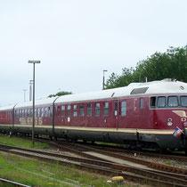 Martin Brosow - Rangierbahnhof Tinnum vor Westerland