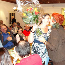 Gratulation an Suzanne Lüthi für die bestandene Prüfung als Pilzkontrolleurin!