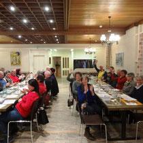 GV 2016 im Restaurant Central in Laufen
