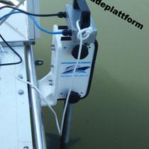 Heckstrahlruder an 7 Meter Boot