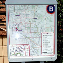 Boulder B-Cycle map of stations